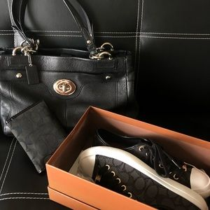 Coach Shoes, Purse And Wallet